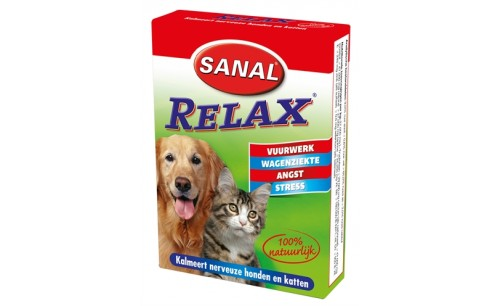 SANAL DOG/CAT RELAX KALMERINGSTABLET 15 TABLETTEN