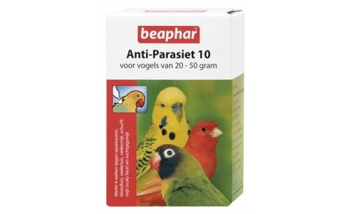 BEAPHAR ANTI-PARASIET 10 VOGEL (20-50GR) 2 PIP