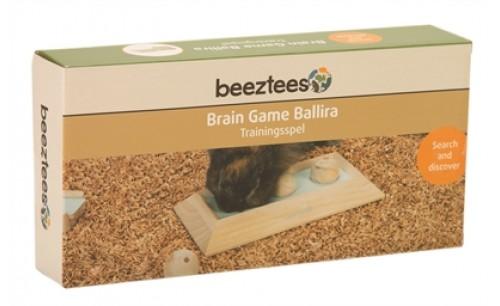BEEZTEES INTELLIGENTIE SPEELGOED BALLIRA 3 BALLEN HOUT MINT 30 CM
