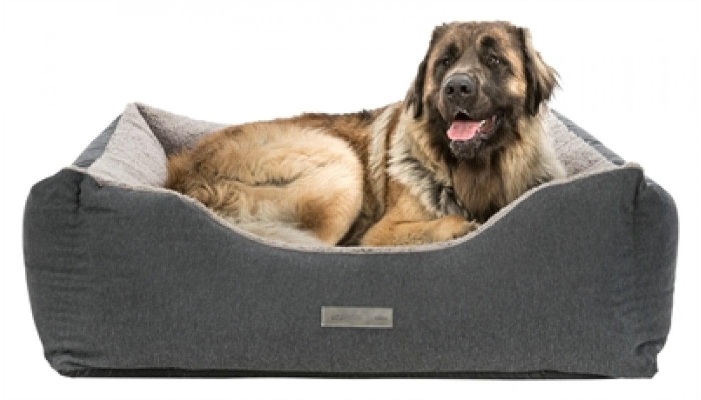 Trixie hondenmand bendson vitaal donkergrijs / lichtgrijs (115X105 CM)